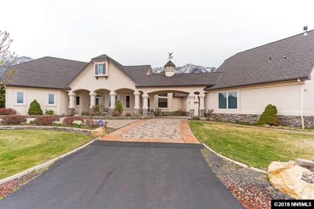 349 Mottsville Lane (Includes Guest House), Gardnerville, NV 89460 (MLS #180004875) :: Marshall Realty