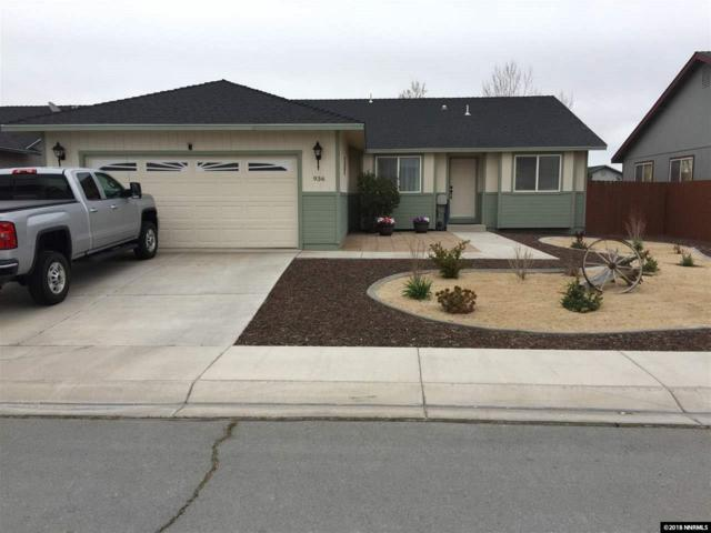 936 Jessica Lane, Fernley, NV 89408 (MLS #180005020) :: Mike and Alena Smith | RE/MAX Realty Affiliates Reno