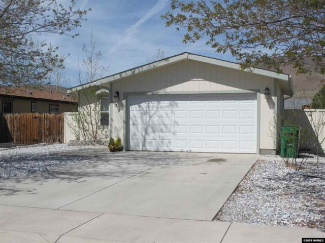 205 Glen Vista, Dayton, NV 89403 (MLS #180005722) :: Marshall Realty