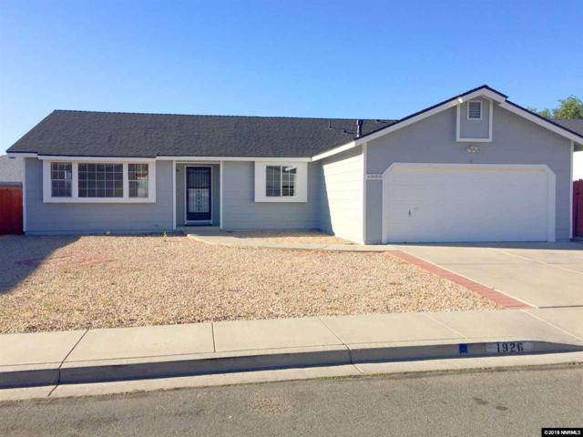 1926 Hamilton Avenue, Carson City, NV 89706 (MLS #180005866) :: Ferrari-Lund Real Estate