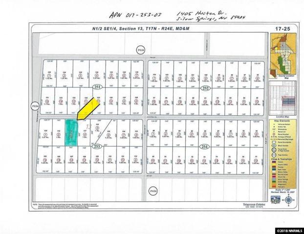 1405 Hooten Drive, Silver Springs, NV 89429 (MLS #180006715) :: Marshall Realty
