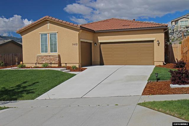 1413 Bluewood Drive, Reno, NV 89523 (MLS #180006807) :: RE/MAX Realty Affiliates