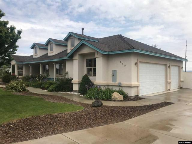 649 Saddle Horn Way, Fernley, NV 89408 (MLS #180006909) :: RE/MAX Realty Affiliates