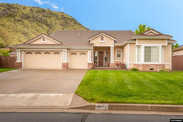 2243 St. George Way, Carson City, NV 89703 (MLS #180006945) :: RE/MAX Realty Affiliates