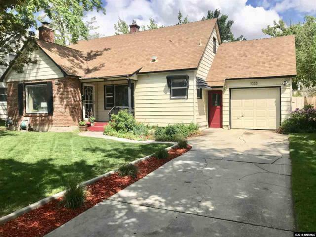 1033 University Terrace, Reno, NV 89503 (MLS #180006982) :: Chase International Real Estate