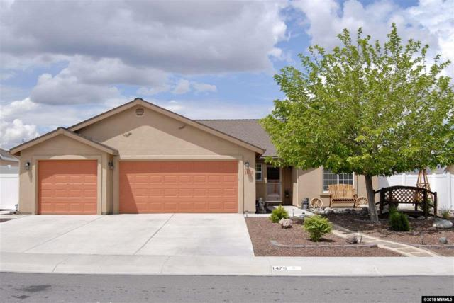1476 Grey Bluffs Drive, Fernley, NV 89408 (MLS #180007216) :: Marshall Realty