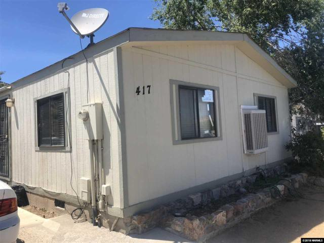 417 Traci Ln, Moundhouse, NV 89706 (MLS #180009943) :: The Matt Carter Group | RE/MAX Realty Affiliates