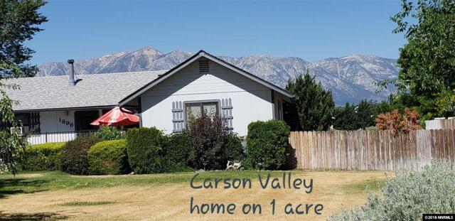 1896 Palomino, Gardnerville, NV 89410 (MLS #180010255) :: The Matt Carter Group | RE/MAX Realty Affiliates