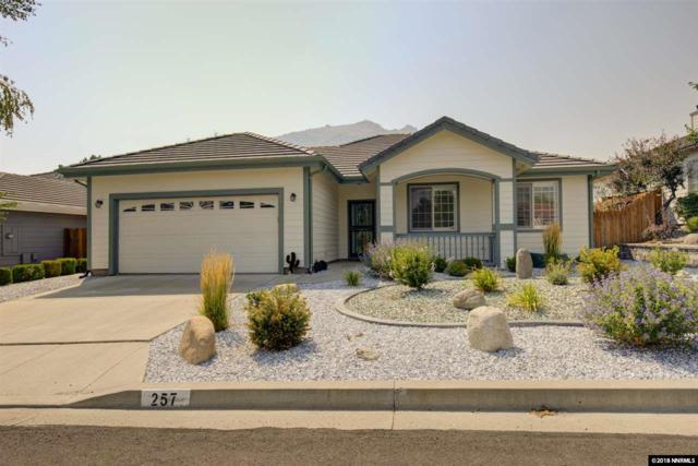 257 Coventry Drive, Carson City, NV 89703 (MLS #180012091) :: Chase International Real Estate