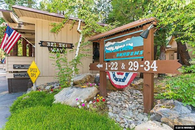 321 Ski Way #30 #30, Incline Village, NV 89451 (MLS #180012222) :: Joseph Wieczorek | Dickson Realty