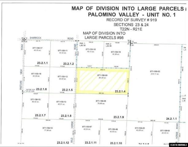 4500 Wild Horse Road, Reno, NV 89510 (MLS #180012253) :: NVGemme Real Estate