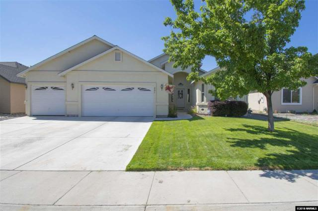 821 Divot Drive, Fernley, NV 89408 (MLS #180012385) :: Marshall Realty