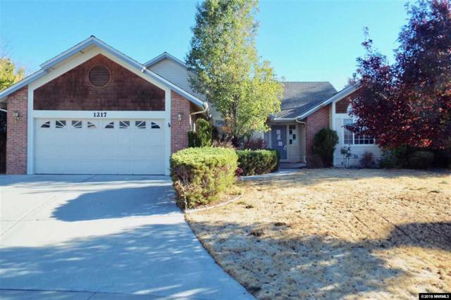 1217 Fieldgate Court, Gardnerville, NV 89460 (MLS #180015704) :: Marshall Realty