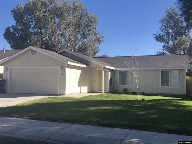 160 Rosecrest Dr, Fernley, NV 89408 (MLS #180015835) :: Harpole Homes Nevada