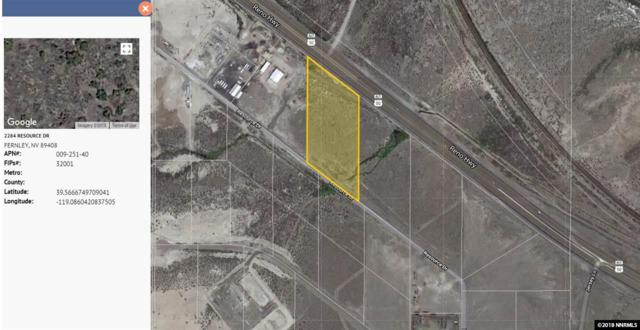 2284 Resource, Fernley, NV 89408 (MLS #180015919) :: Marshall Realty