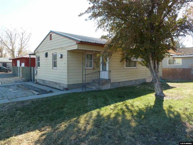 402 S West Street, Yerington, NV 89447 (MLS #180017115) :: Harcourts NV1