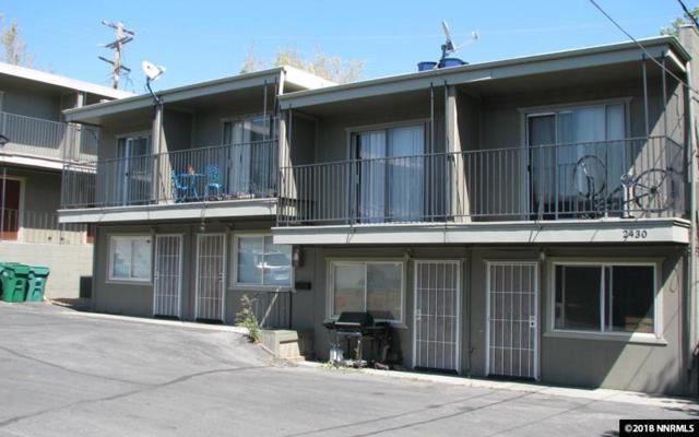 2430 Sutro Street #4, Reno, NV 89512 (MLS #180017184) :: Harcourts NV1