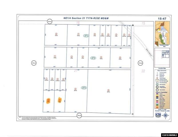 00 Break A Heart Rd Lot 7, Stagecoach, NV 89429 (MLS #180017232) :: Vaulet Group Real Estate