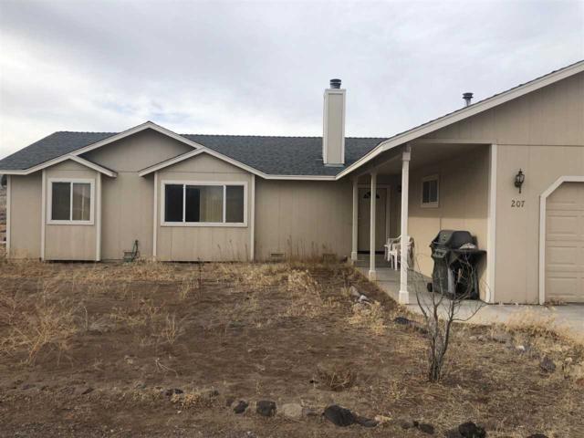 207 David Ave, Stagecoach, NV 89429 (MLS #190000458) :: Vaulet Group Real Estate