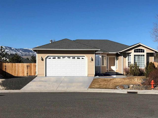 880 Sundance Court, Carson City, NV 89701 (MLS #190001004) :: The Mike Wood Team