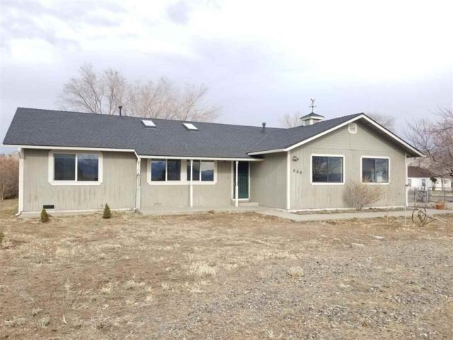 885 Old Ophir Road, Washoe Valley, NV 89704 (MLS #190001374) :: Chase International Real Estate