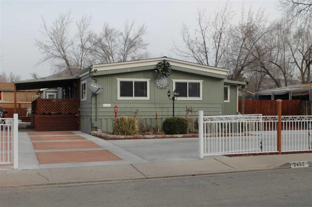 2432 E Nye Lane, Carson City, NV 89706 (MLS #190001409) :: The Mike Wood Team