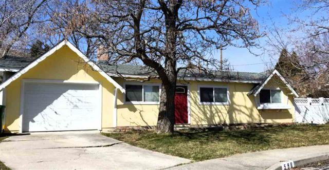 598 S Richmond Ave, Carson City, NV 89703 (MLS #190003601) :: NVGemme Real Estate