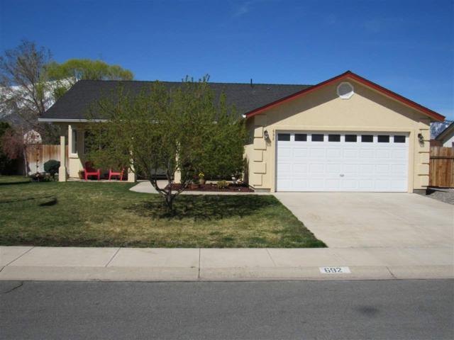 692 Bluerock Road, Gardnerville, NV 89460 (MLS #190005325) :: Chase International Real Estate