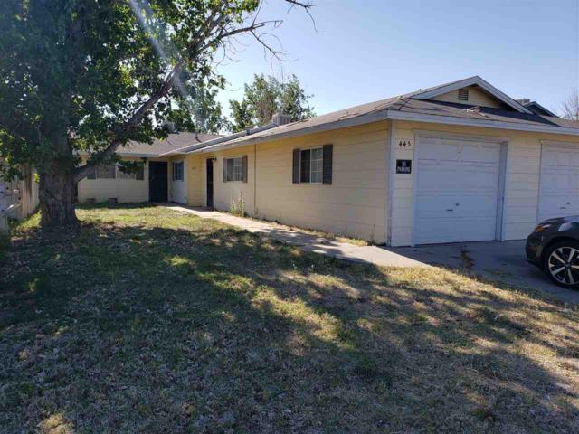 443 445 N Taylor St, Fallon, NV 89401 (MLS #190007071) :: Vaulet Group Real Estate