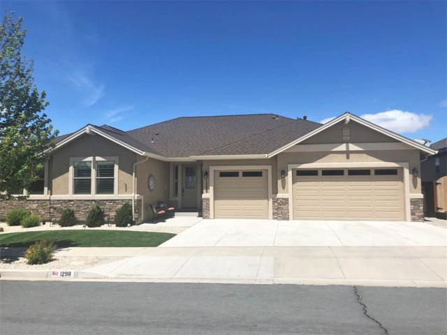 1298 Cedar Brook, Gardnerville, NV 89460 (MLS #190007183) :: NVGemme Real Estate
