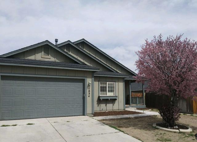 1034 Iris, Fernley, NV 89408 (MLS #190007237) :: Chase International Real Estate