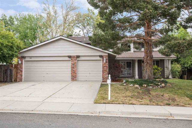 885 Twin Pines Road, Reno, NV 89509 (MLS #190007685) :: Theresa Nelson Real Estate