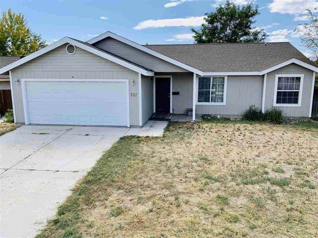 727 Shadow Lane, Fernley, NV 89408 (MLS #190014323) :: Ferrari-Lund Real Estate