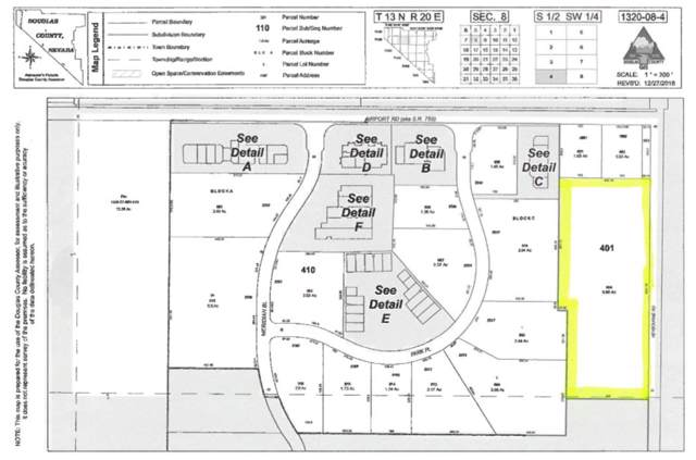 Lot 401 Heybourne Rd, Minden, NV 89423 (MLS #190015087) :: Ferrari-Lund Real Estate