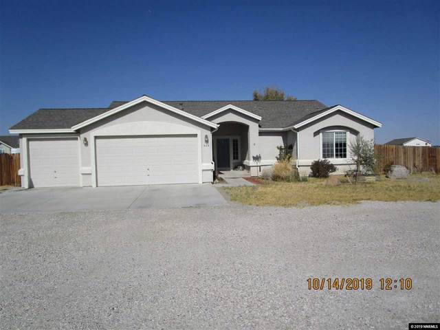 340 Winchester Road, Fallon, NV 89406 (MLS #190015858) :: L. Clarke Group | RE/MAX Professionals