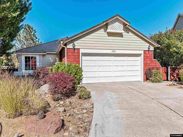 2200 Saddle Ridge Ct, Reno, NV 89509 (MLS #190015874) :: Ferrari-Lund Real Estate