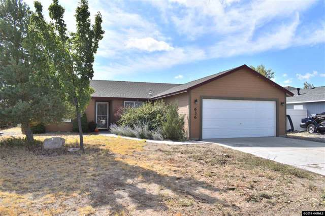 636 Jennys Lane, Fernley, NV 89408 (MLS #190015948) :: L. Clarke Group | RE/MAX Professionals