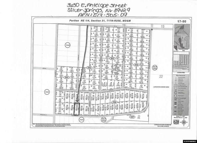 3630 E Antelope Street, Silver Springs, NV 89429 (MLS #190016798) :: Chase International Real Estate