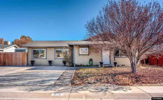 415 Keystone Avenue, Dayton, NV 89403 (MLS #190016799) :: Northern Nevada Real Estate Group