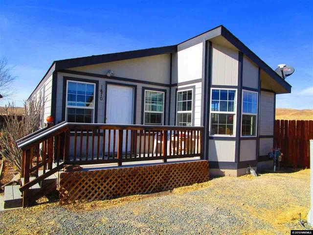 1870 Tuscarora, Silver Springs, NV 89429 (MLS #190016996) :: Ferrari-Lund Real Estate