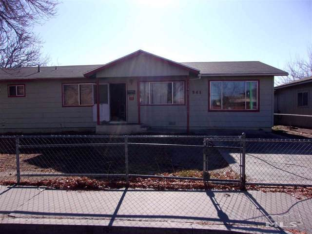 941 W Center St., Fallon, NV 89406 (MLS #190017458) :: The Mike Wood Team
