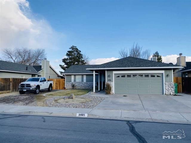 2865 Panamint Rd, Carson City, NV 89706 (MLS #190017601) :: Vaulet Group Real Estate