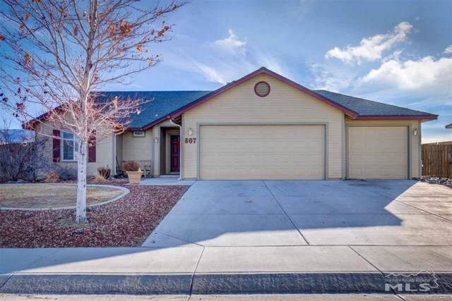 807 Mariposa Road, Dayton, NV 89403 (MLS #190018337) :: Chase International Real Estate