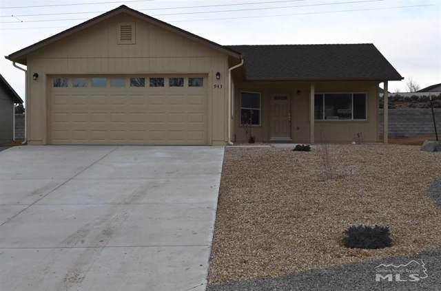 943 Azurite Lane, Carson City, NV 89705 (MLS #190018344) :: NVGemme Real Estate