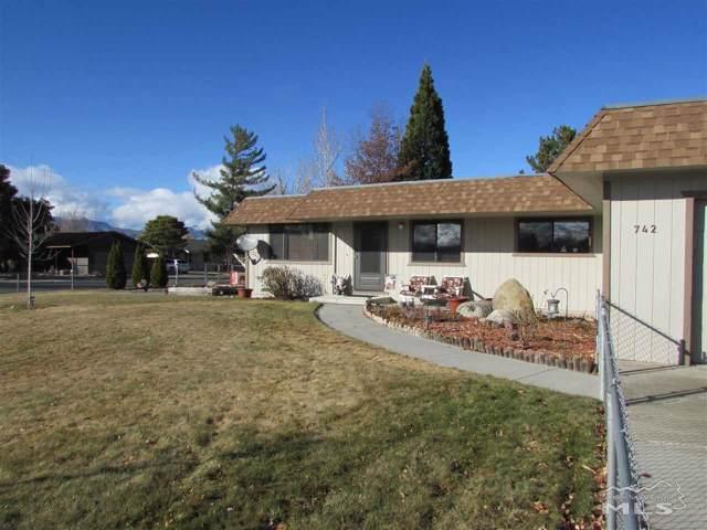 742 Lassen Way, Gardnerville, NV 89460 (MLS #200000123) :: Ferrari-Lund Real Estate