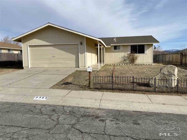 3363 Placer Court, Carson City, NV 89705 (MLS #200000448) :: Harcourts NV1