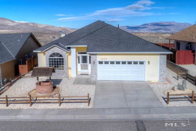 1030 Haystack Drive, Carson City, NV 89705 (MLS #200000616) :: Ferrari-Lund Real Estate