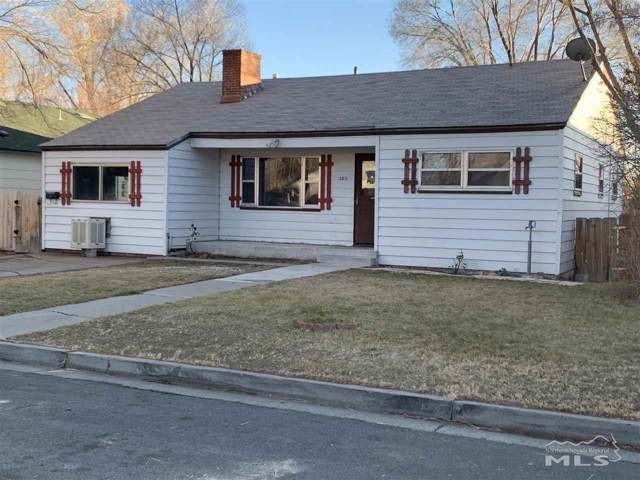 205 Lee Street, Carson City, NV 89706 (MLS #200000799) :: Vaulet Group Real Estate