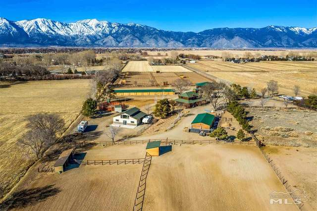 1581 Broken Arrow, Gardnerville, NV 89410 (MLS #200002365) :: The Mike Wood Team