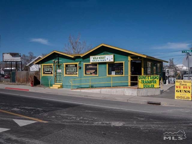 80 E Main, Fernley, NV 89408 (MLS #200002400) :: Chase International Real Estate